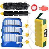 efluky 3.5Ah batería de Repuesto para irobot roomba + Kit cepillos repuestos de Accesorios para iRobot Roomba...