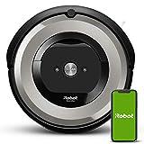 iRobot Roomba e5154 Wifi, Robot aspirador óptimo para mascotas, aspiración alta potencia, 2 cepillos goma,...