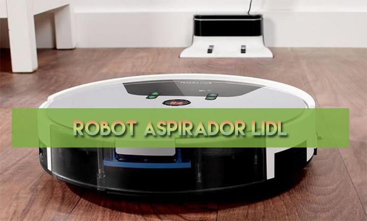Robot aspirador Lidl