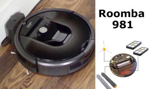 Roomba 981: aspiradora robot de alta gama